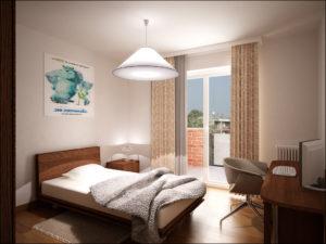 Camera da letto Trilocale Alpi