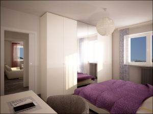 Camera da letto - Residenza Alpi