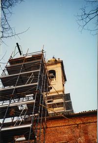 Campanile Chiesa San Martino - Anno 1996 - Impresa Brustia