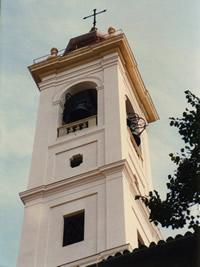Campanile Chiesa San Martino - Anno 1996 Novara