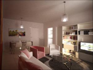 Soggiorno appartamento Alpi Bilocale